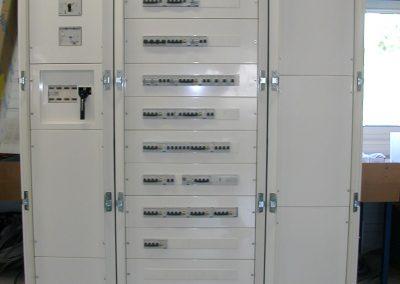 Armoire de distribution pour batiment industriel (fermee) | FAECE