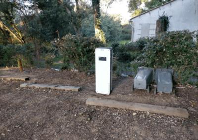 installation borne vehicule legrand 2x22Kw   FAECE electricite