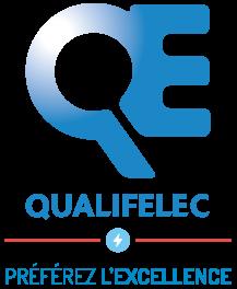 logo certification qualifelec | FAECE specialiste electricite industrielle vendee